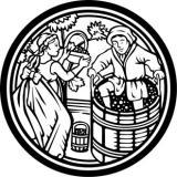 производство на вино монограма