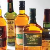 Бутилки ирландски марки уиски