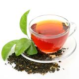чаша чай с чаено листо