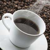чаша с кафе и зърна