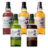 Малцовите уискита Ямадзаки и Хакуши 2013 серия