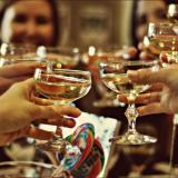 Наздравица с шампанско