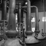Три казана за дестилиране на ирландско уиски