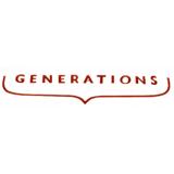 Generations лого бяло