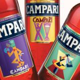 Лимитирани бутилки Кампари с етикети на Фортунато Деперо
