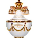 водка Императорска Колекция - кристална графа с чаши