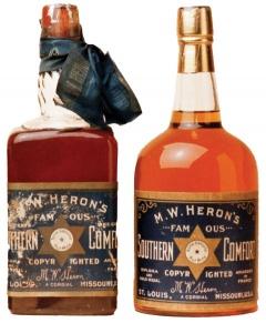 Първите бутилки на Саутърн Комфорт