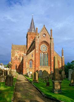 Църквата в Къркуол, където Магнус Юнсън е криел своето уиски.