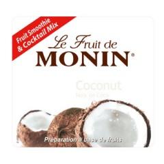 Етикет на Плодово пюре кокос на Монин
