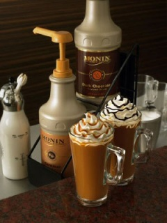 Кафета приготвени с гурме сосове Монин