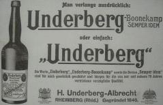 Рекламна брошура Ундерберг