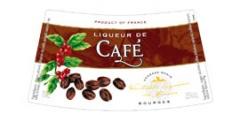 Етикет на ликьор кафе на Монин