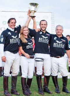 Отборът на водка Белуга по поло печели