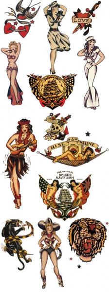 Татуировки на Сейлър Джери 5