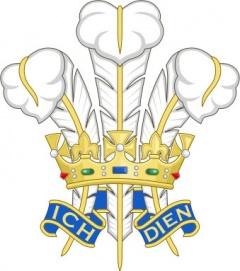 Герб на принца на Уелс
