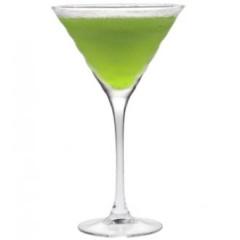 мартини коктейл със сироп киви на Монин