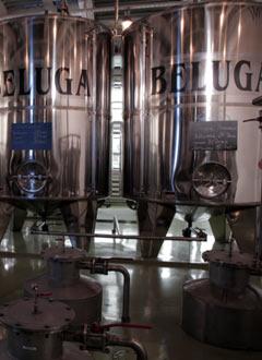 Резервоари за отлежаване на водка Белуга