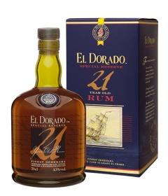 Бутика и кутия на  Ел Дорадо 21 годишен