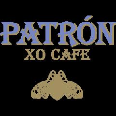 Лого текила Патрон лилаво