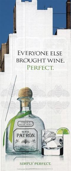 реклама на Патрон от кампанията Симпли Пърфект