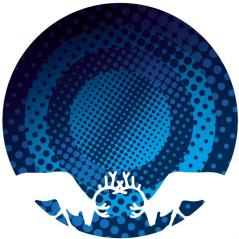 Графична илюстрация с лого на водка Финландия