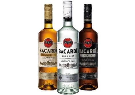 Новият (2015) дизайн на бутилките на Бакарди