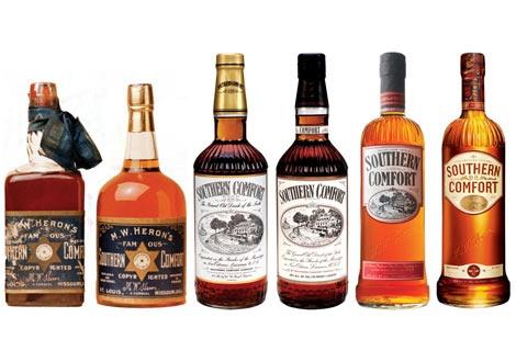 Историята на бутилките на Саутърн Комфорт