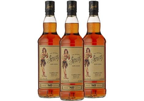 Новата бутилка на Сейлър Джери Спайс ром (2014)