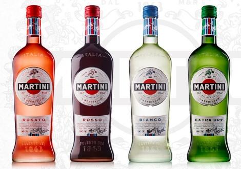 Новата бутилка и лого на МАРТИНИ 2016 година