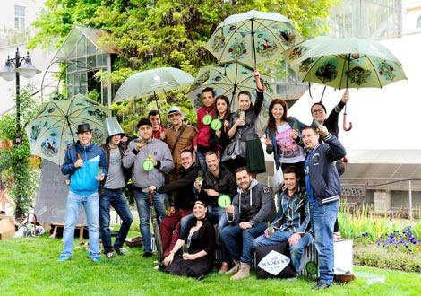 Парти с джин Хендрикс в София 2014