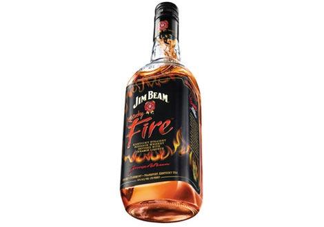 Джим Бийм Кентъки Файър - канелено уиски