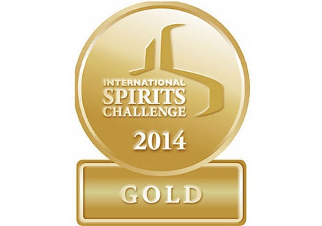 The International Spirits Challenge Gold Medal 2014