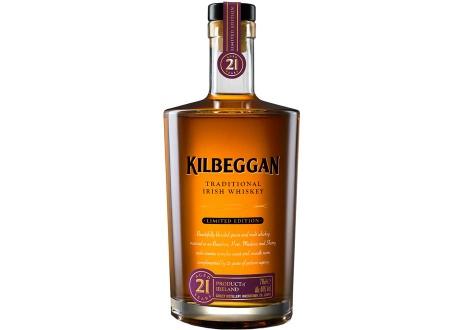 Килбегън 21 годишно ирландско уиски