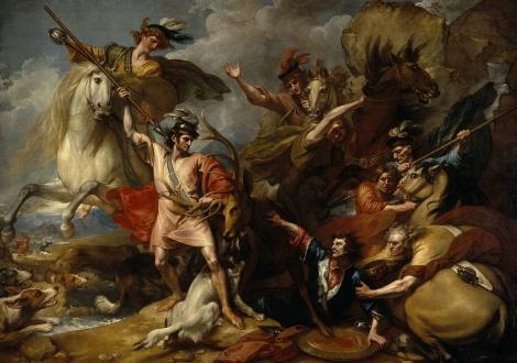 Макензи спасява Крал Александър ІІІ от разярен елен