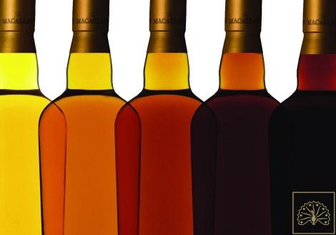 Натуралните цветове в уискито на Макалън