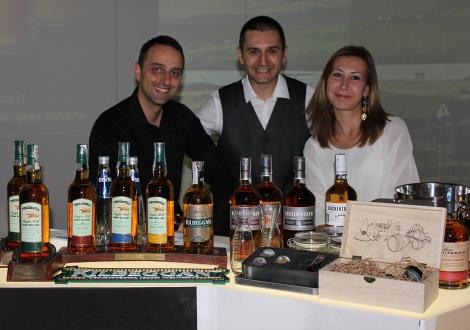 Щанд Ирландски уискита Максиъм - Уиски Фест София 2014