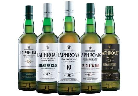 Уискитата от основното портфолио но Лафройг