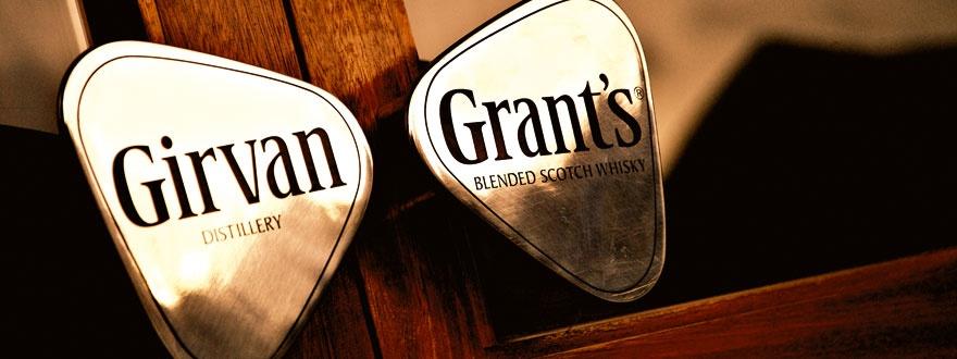 дестилерията в Гирван и Грантс Дръжка на врата