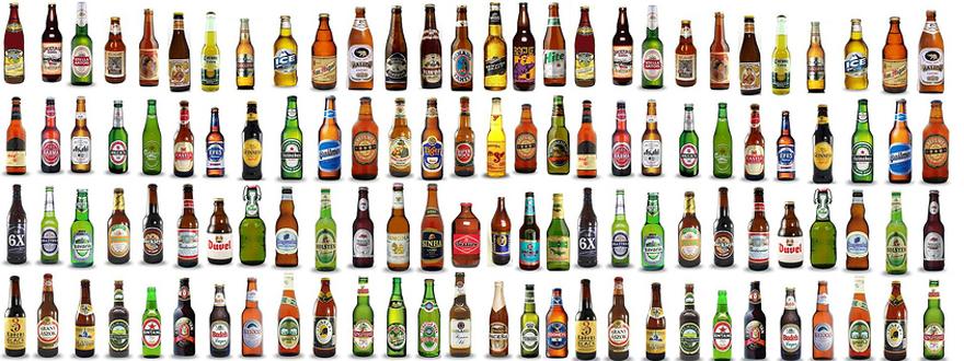бутилки бира