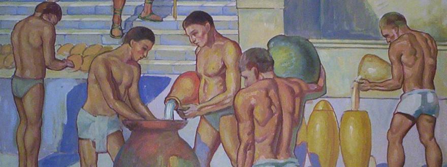 Пивовари в древен египет 2