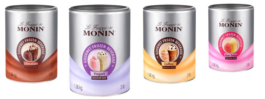 Фрапе смеси Монин продукти