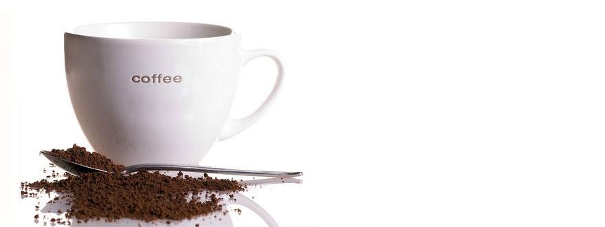 разтворимо кафе и чаша