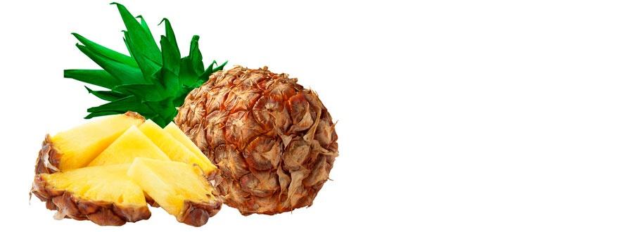плод ананас и резени