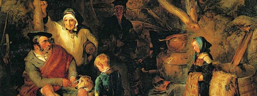 Нелегален казан за уиски в Шотландия