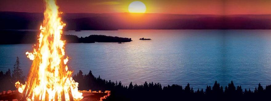 Среднощното слънце на Финландия
