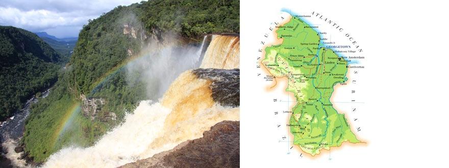 Гвиана - страна на водите