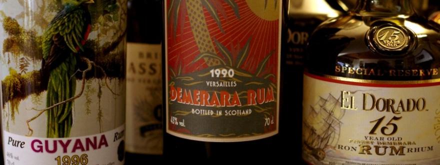 Демерара е запазена марка на ромовете на Гвиана