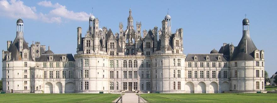 Замъка Шамбор във Франция