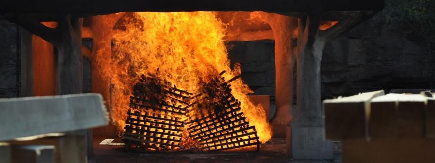 Дървени въглища за тениси уиски