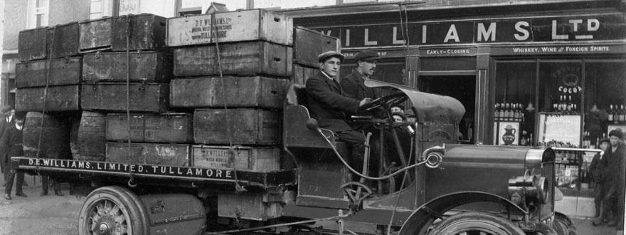 Тъламор Дю сандъци на камион